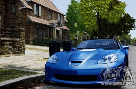 Chevrolet Corvette ZR1 para GTA 4 left