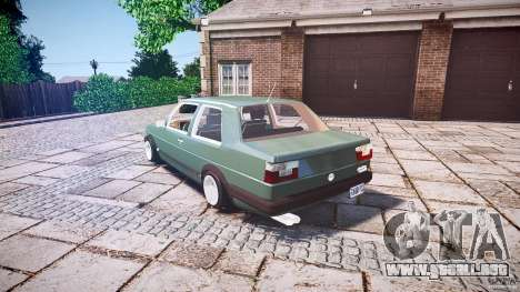 Volkswagen Jetta MKII VR6 para GTA 4 Vista posterior izquierda