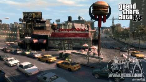 Imágenes de arranque en el estilo del GTA IV para GTA San Andreas novena de pantalla