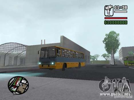 Ikarus 263 para GTA San Andreas left