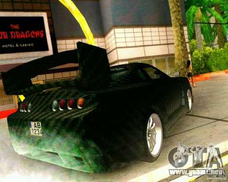 Toyota Supra Carbon para GTA San Andreas left