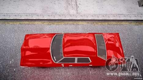 Dodge Monaco 1974 stok rims para GTA 4 visión correcta