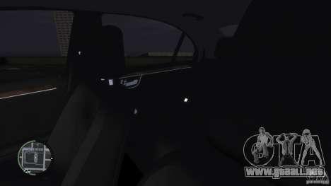 Mercedes-Benz S65 AMG para GTA 4 vista desde abajo