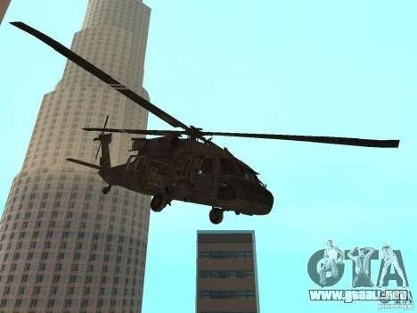 UH-60 Black Hawk para GTA San Andreas