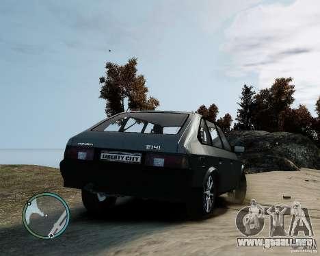 AZLK Moskvich 2141 para GTA 4 left