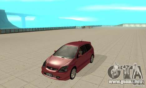 Honda Civic Type R - Stock + Airbags para GTA San Andreas left