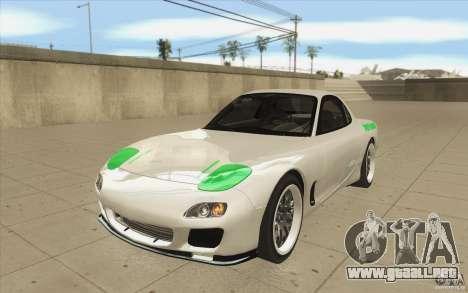 Mazda FD3S - Ebisu Style para GTA San Andreas