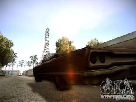 SA DirectX 1.1 Beta para GTA San Andreas segunda pantalla