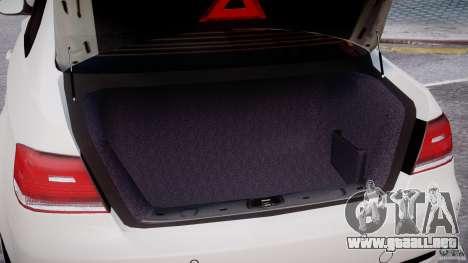 BMW M3 Hamann E92 para GTA motor 4