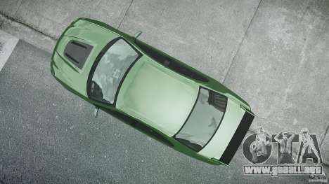 Ford Falcon XR8 2007 Rim 1 para GTA 4 vista superior