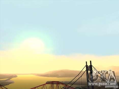 Un realista Timecyc para GTA San Andreas segunda pantalla