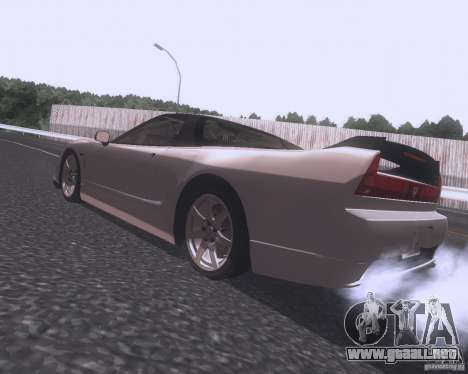 Honda NSX Japan Drift para GTA San Andreas left