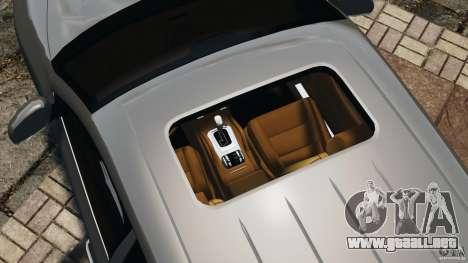 Porsche Cayenne Turbo 2003 para GTA 4 vista desde abajo