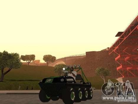 Vehículo todo terreno Argo Avenger para GTA San Andreas