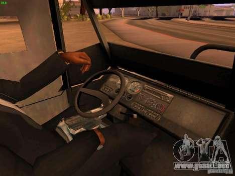 Monster Van para vista lateral GTA San Andreas