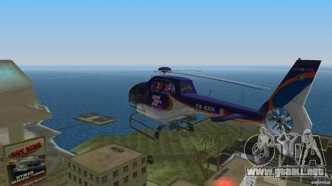 Eurocopter Ec-120 Colibri para GTA Vice City vista posterior