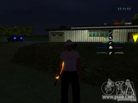 Nuevos skins La Coza Nostry para GTA: SA para GTA San Andreas tercera pantalla