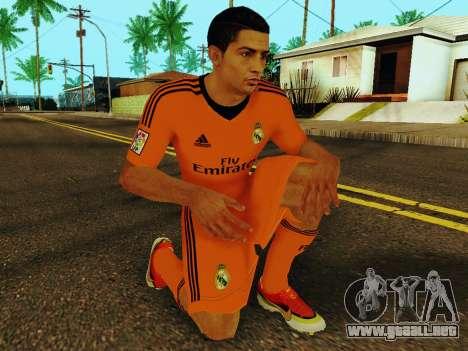 Cristiano Ronaldo v3 para GTA San Andreas quinta pantalla