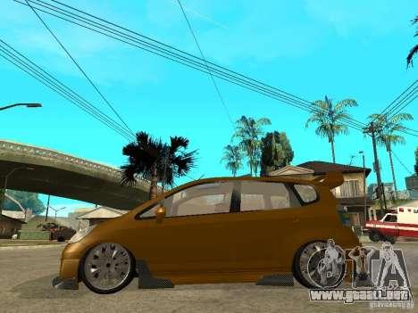 Honda Jazz Sport para GTA San Andreas left