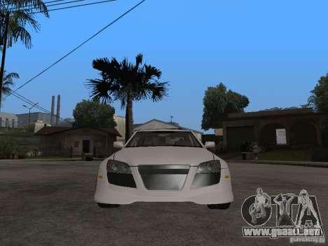 Lexus IS300 NFS Carbon para la visión correcta GTA San Andreas