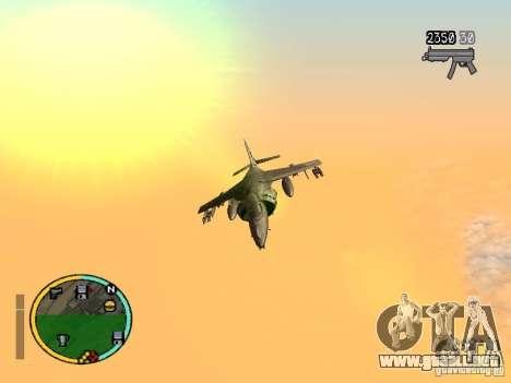 GTA IV HUD v2 by shama123 para GTA San Andreas segunda pantalla