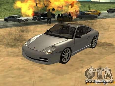 Porsche 911 TARGA para GTA San Andreas left