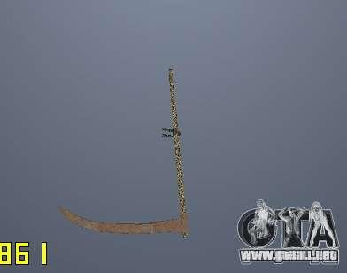 Xosa para GTA San Andreas tercera pantalla