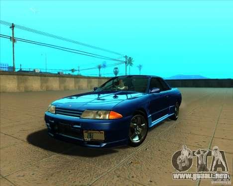 Nissan Skyline GT-R R32 1993 Tunable para visión interna GTA San Andreas