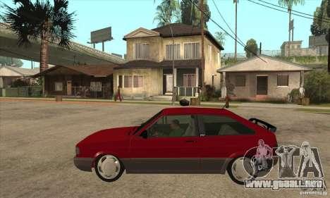 Volkswagen Gol GTS 1994 para GTA San Andreas left