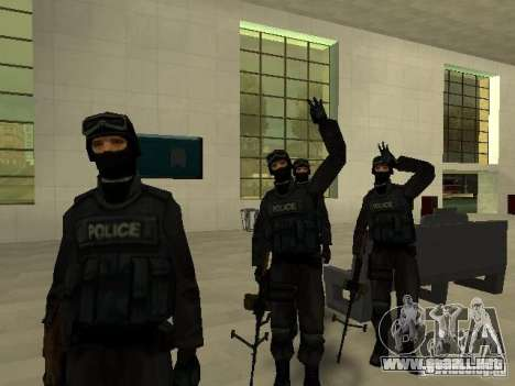 Ayuda Swat para GTA San Andreas octavo de pantalla