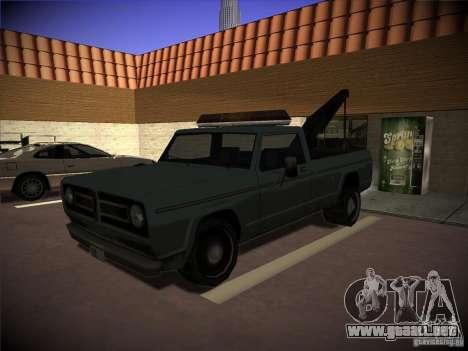Camión de remolque Sadler para GTA San Andreas