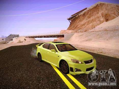 Lexus I SF para GTA San Andreas left