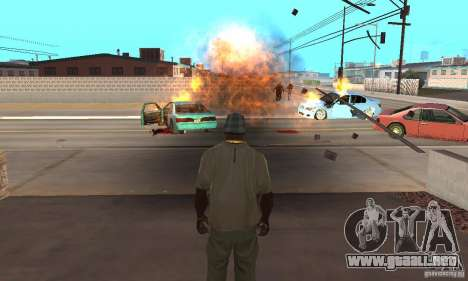Hot adrenaline effects v1.0 para GTA San Andreas sucesivamente de pantalla