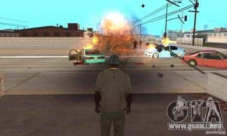 Hot adrenaline effects v1.0 para GTA San Andreas sucesivamente de pantalla