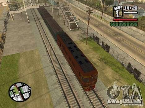 Locomotora TEP-60 para GTA San Andreas left