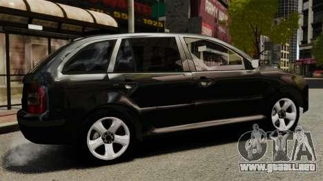 Skoda Fabia Combi Unmarked ELS para GTA 4 left