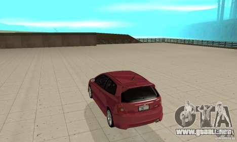 Honda Civic Type R - Stock + Airbags para la visión correcta GTA San Andreas