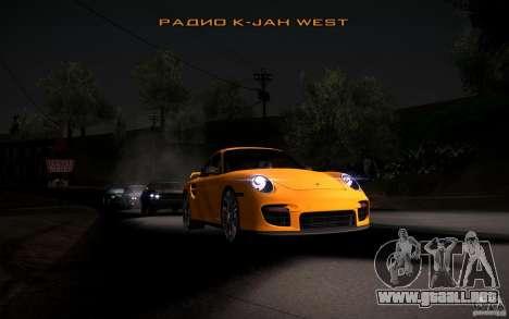 Lensflare para GTA San Andreas octavo de pantalla