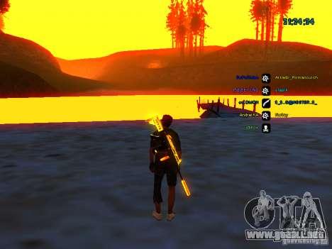 Paquete de piel para samp-rp para GTA San Andreas sucesivamente de pantalla