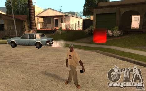 Life para GTA San Andreas quinta pantalla