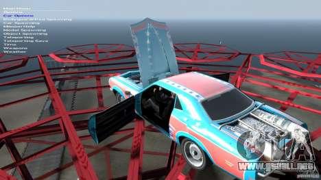 Afterburner Flatout UC para GTA 4 vista superior