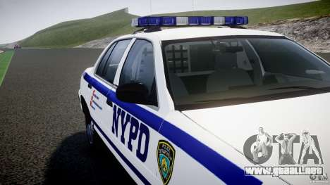 Ford Crown Victoria NYPD [ELS] para GTA motor 4