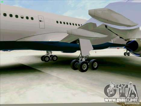 Airbus A330-200 para vista lateral GTA San Andreas