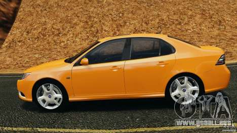 Saab 9-3 Turbo X 2008 para GTA 4 left
