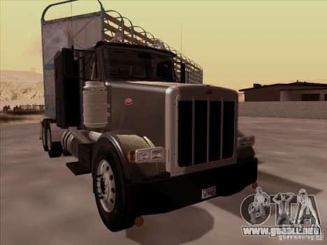 Peterbilt 378 para GTA San Andreas left