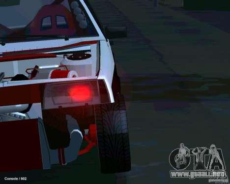 VAZ 2108 Drag para la vista superior GTA San Andreas