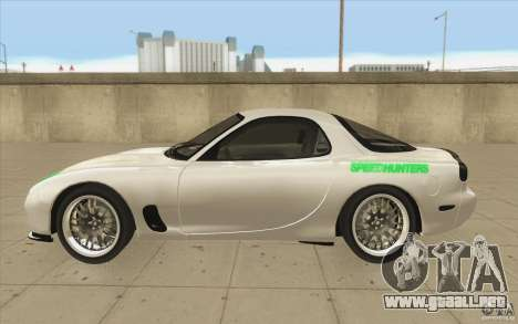 Mazda FD3S - Ebisu Style para GTA San Andreas left