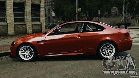 BMW M3 GTS 2010 para GTA 4 left