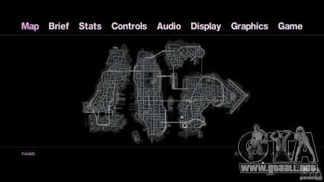 VC estilo Radar/HUD (2 pieles) para GTA 4 séptima pantalla