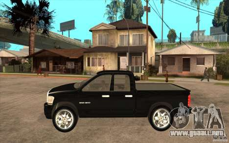 Dodge Ram 2500 2008 para GTA San Andreas left